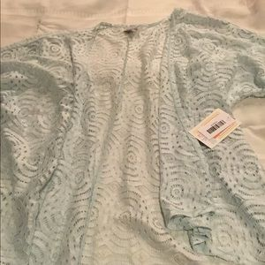 Lularoe lace Lindsay Kimono